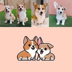 Alfrey Davilla (@vaneltia_design) • Instagram photos and videos Pug, Dachshund, Corgi, Illustration, Design Art, Labrador, Terrier, Snoopy, Photo And Video