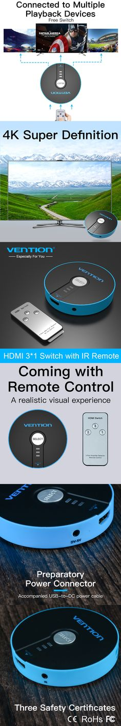 Vention VGA to HDMI Converter Cable Adapter with Audio 1080P VGA ...