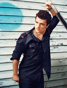 "Josh Hutcherson: ""I really love women's shoes—I think they're very sexy..."" (InStyle)"
