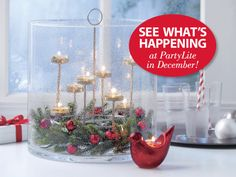 Love candles? See what's happening at PartyLite in December