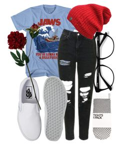 """bang bang maxwell's silver hammer"" by qimmig on Polyvore featuring Topshop, Vans, EyeBuyDirect.com and Laura Cole"