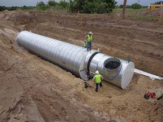 corrugated survival shelter underground 0013   Underground Homes: Atlas Survival Shelters