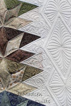 Quilting by Judi Madsen Quilting Stencils, Longarm Quilting, Free Motion Quilting, Quilting Projects, Quilting Ideas, Modern Quilting, Machine Quilting Patterns, Quilt Patterns, Stitch Patterns