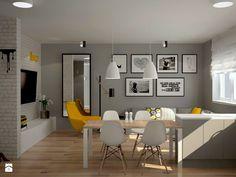 Mieszkanie na Ursynowie - Salon, styl skandynawski - zdjęcie od Icona Studio