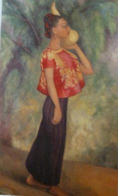 """Mujer de Tehuantepec"" by Diego Rivera."
