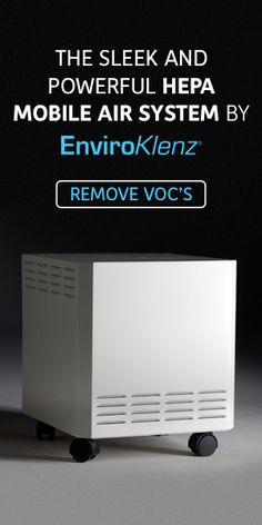 The best air aurification system for the home, this efficient mobil air unit is much more than just the best hepa air cleaner available.  Using hospital grade technology to purify and remove VOCs and other irritants. https://howtoremovetoxins.com/best-air-purification-system-for-the-home-enviroklenz-mobile-air