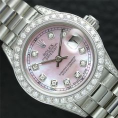 Diamond Rolex Watch. Urban Sassy.