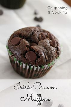 Couponing & Cooking: Baileys Irish Cream Chocolate Chip Muffins