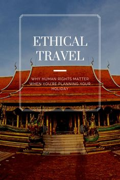 Ethical Issues in Tourism: Should you go? - She Roams Solo - Ethical Issues in Tourism: Should you go? As responsible travellers, we have to take ethical issues in tourism into account. Find out why you should care and how you can affect change. Travel Advice, Travel Guides, Travel Tips, Travel Articles, Travel Hacks, Travel And Tourism, Travel Usa, Group Travel, Ethical Issues