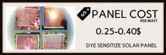 Dye Sensitize Solar Panel  ( solar panels cost image-6)