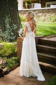 claire pettibone queen anne's lace wedding gown | Bride Catherine in the 'Queen Anne's Lace' wedding dress ...