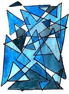Image result for geometry art for kids