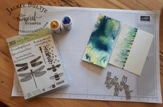 Effective Tips and Tricks with Brusho Techniques - The Pampered Stamper Brusho Techniques, Watercolor Techniques, Card Making Tutorials, Card Making Techniques, Post It Note Holders, Alcohol Markers, Butterfly Cards, Paper Gifts, Creative Cards