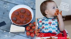 Teenie Tiny Baby Meatballs Baby Led Feeding.