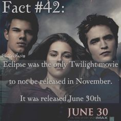"153 Synes godt om, 1 kommentarer – Twilight Facts (@twilightfactss) på Instagram: ""~ I still remember the day I saw this. Me and my cousin went to see this while my mom and uncle…"""