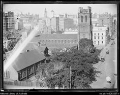 Buildings in Church Hill,Sydney, ca. 1930s.Photos from National Library of Australia.A♥W