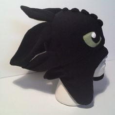 Toothless How to train your Dragon Fleece Aviator Hat