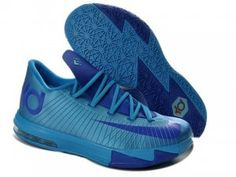 Nike Zoom KD 6 Blue Glow Shoes are cheap sale on our website. The newest