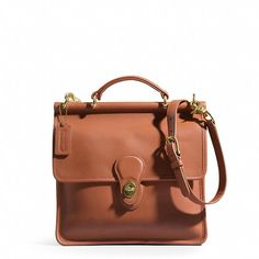 Coach  Willis Bag in Leather