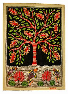 Left Bank Art Blog: Mithila Painting
