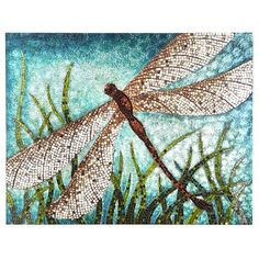 Dragonfly Wall Panel from Pier 1 Imports. Dragonfly Wall Art, Mirror Painting, Teal Walls, Pier 1 Imports, My Living Room, Wall Art Decor, Teal Wall Art, Wall Decorations, Accent Decor