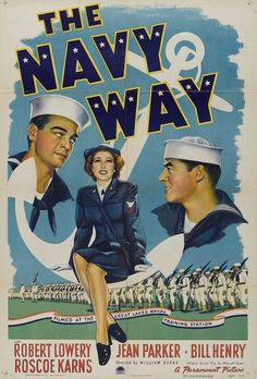 old movie posters about the navy | the navy way 1944 item aj5164 1 your selected format size product type ...