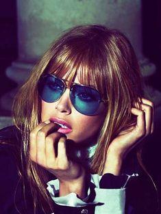 Usando Óculos, Oculos De Sol, Looks Femininos, Beleza, Tendências Da Moda, f257f4e651