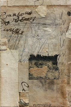 Mixed Media Fine Art Collage Art, Artist Study Cecil Touchon, Resources for Art Students , CAPI ::: Create Art Portfolio Ideas at milliande.com , Art School Portfolio Art, Paper, Collage, Glue,Mixed Media
