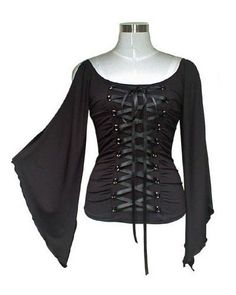 lace-up corset blouse - needs color ribbon