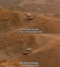 cinemasemlei Ta'm e guilass/O Sabor da Cereja (1997) - Abbas Kiarostami