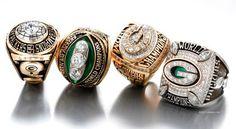 Green Bay Packers Super Bowl Rings! :)