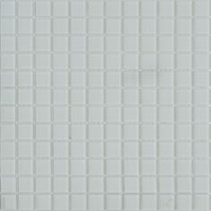 MOSAICOS DE CRISTAL: CRISTAL BLANCO 30x30 cm