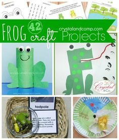 Are you looking for activities for kids as you teach your preschooler about frogs? I have pulled together a nice collection of frog crafts and projects that you can do with your little ones. These ...