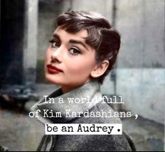 Imagen de audrey hepburn, quote, and celebrity More