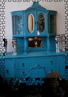 Image detail for -The Ivy Cottage Blog: Painted Hutch Inspiration  astounding