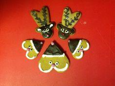 Tonttuja ja poroja, niistä on meidän joulu tehty :) - by Sini-kristiina -- #Piparkakku #Joulu #Gingerbread #Christmas #PipariBattle2013 sarja 2D