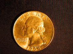 #Vintage #1964 #Silver #Quarter #CoinSilver  #PreciousMetal #Jewelry #Etsy #Antiques #TheIDconnection #RolandDressler rolanddressler@gmail.com   Etsy listing at https://www.etsy.com/listing/173603962/1964-washington-quarter-circulated