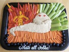 Ultimate List: 100 Star Wars Birthday Party Ideasby a Professional Party Planner - Star Wars Bday - Ideas of Star Wars Bday - jabba the hutt dip Star Wars Themed Food, Star Wars Party Food, Star Wars Food, Star Wars Baby, Girls Star Wars Party, Star Wars Halloween, Star Wars Essen, Star Wars Birthday Cake, 40th Birthday