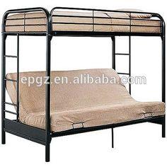 comercio al por mayor juego de dormitorio plegadora cum sof cama litera de metal diseos
