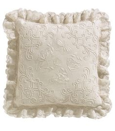 Amazon.com: Janlynn Ivory Candle Wicking Embroidery Kit, Butterflies Pillow