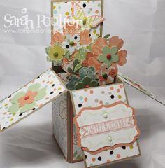Stampin' Sarah!: Stampin' Up! Birthday Card in a Box Birthday Celebration