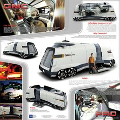 GMC concept motorhome.