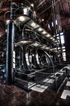 This is a huge pumping engine at the Metropolitan Waterworks Museum in Boston. Photo by: Michael Noirot