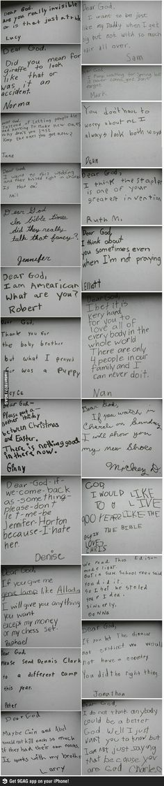 Funny 'Dear God' Letters from Kids | Mommy Has A Potty MouthMommy Has A Potty Mouth