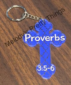 Cross keychain, custom orders, personalized gift, keychain with favorite bible verse, personalized keychain - pinned by pin4etsy.com