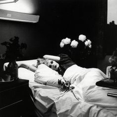 Peter Hujar (''Candy Darling on her death bed'') - Album cover for Antony  The Johnsons 'I Am A Bird Now'