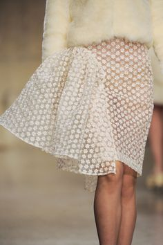 fashioninquality:  Detail at Simone Rocha Fall Winter 2013   LFW