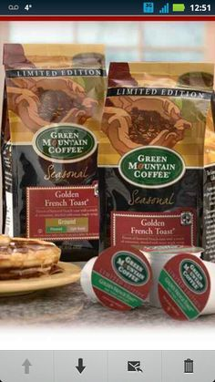 Golden French Toast Coffee ... One of my favorites! Even better with French toast bagels!!