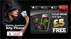 mFortune Texas Hold'em: Best Mobile Poker Operator in 2012. Register now and get a FREE 5£ No Deposit Bonus!