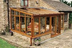 Image result for lean to conservatory designs
